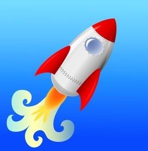 295x300 Nasa Rocket Ship Clip Art