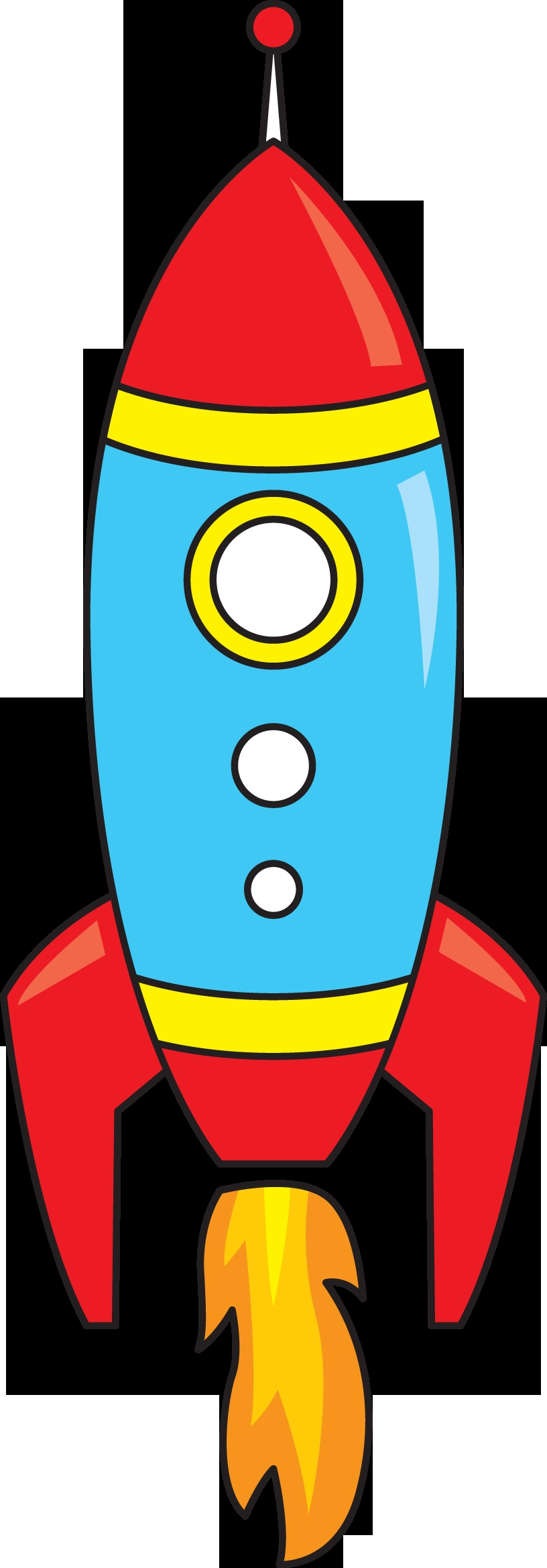 816x2338 New Rocket Ship Clipart Collection