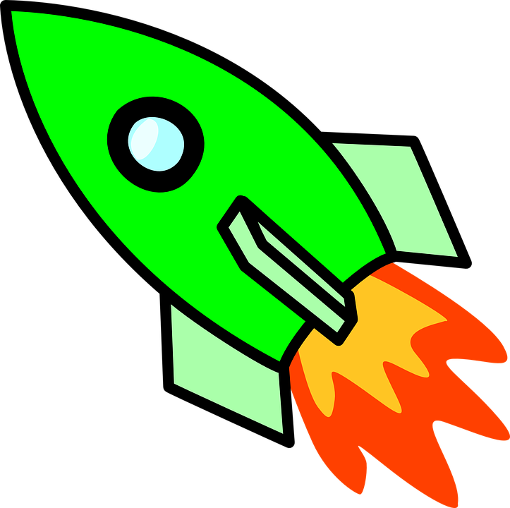 723x720 Spaceship Clipart Free Rocket Ignition Propulsion Free Vector