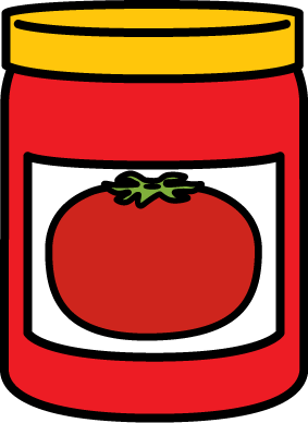 283x388 Jar Of Spaghetti Sauce Clip Art