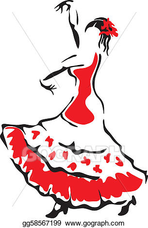 305x470 Collection Of Spanish Flamenco Clipart High Quality, Free