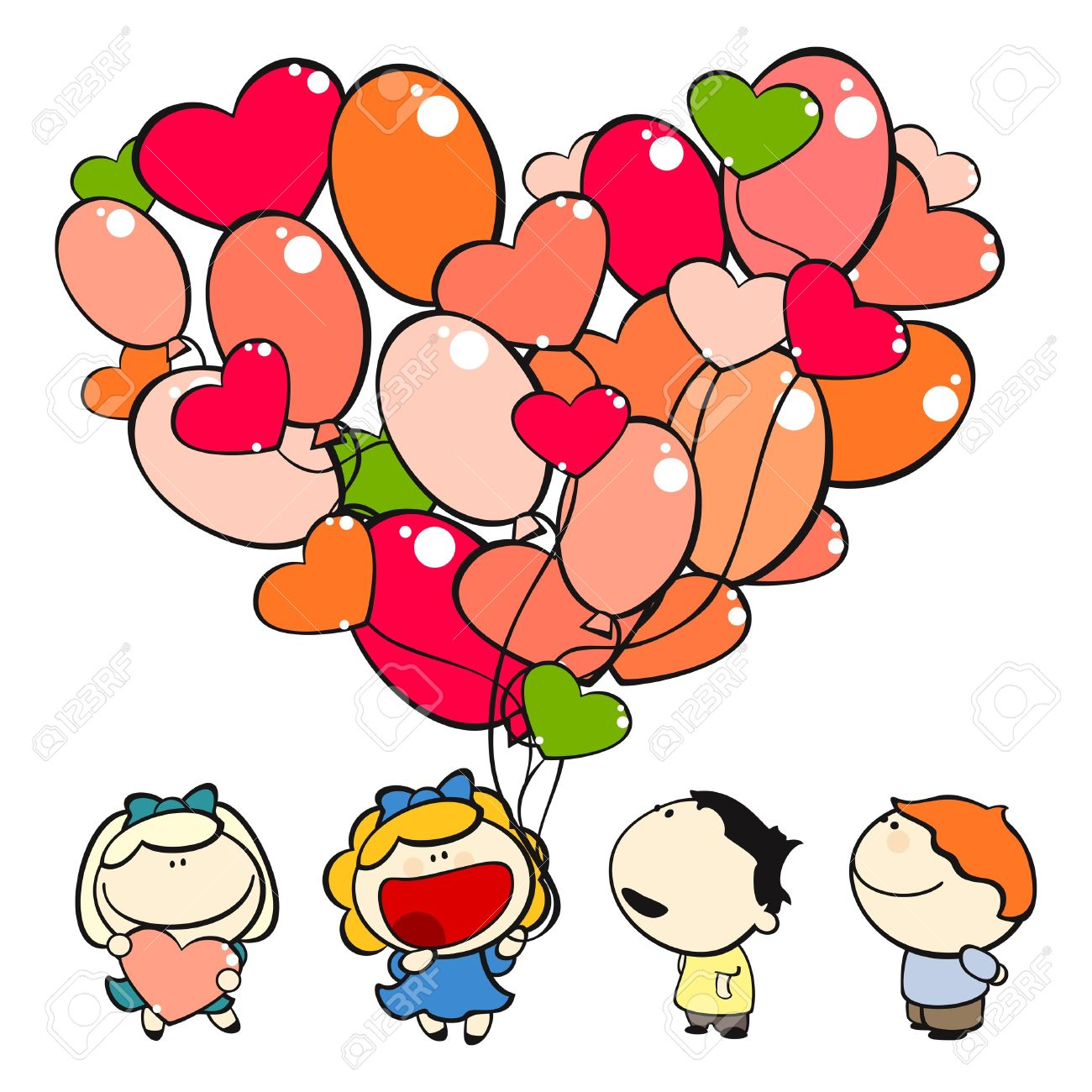 1300x1300 Wonderful Valentines Pictures For Kids Skill Valentine Day Clipart