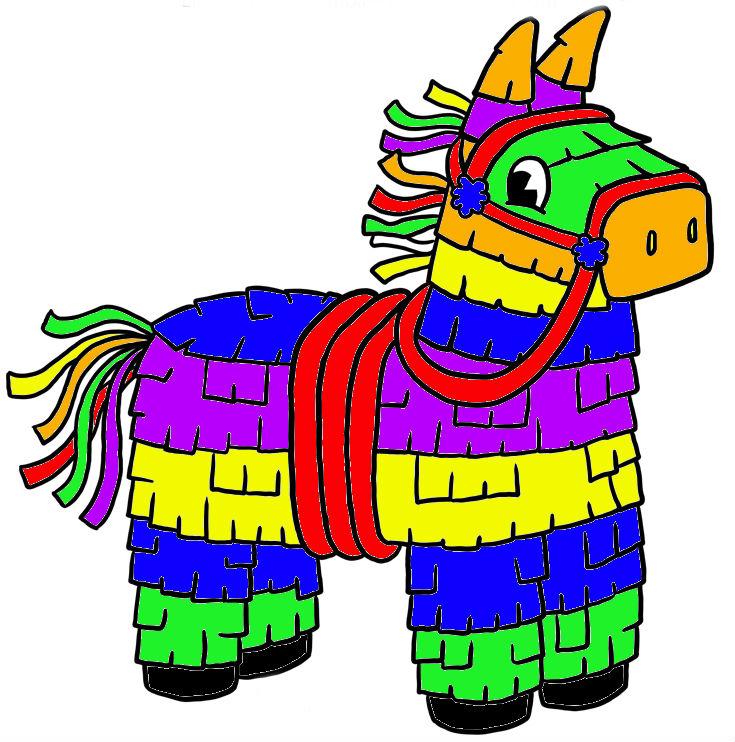 735x742 Mexican Pinata Clipart Star 2