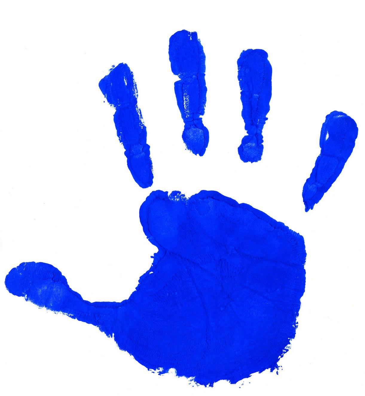 1221x1322 Handprint Outline 3 Clipart