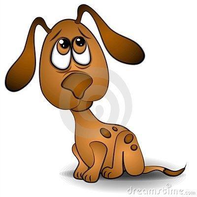 400x400 Inspirational Sad Dog Clipart