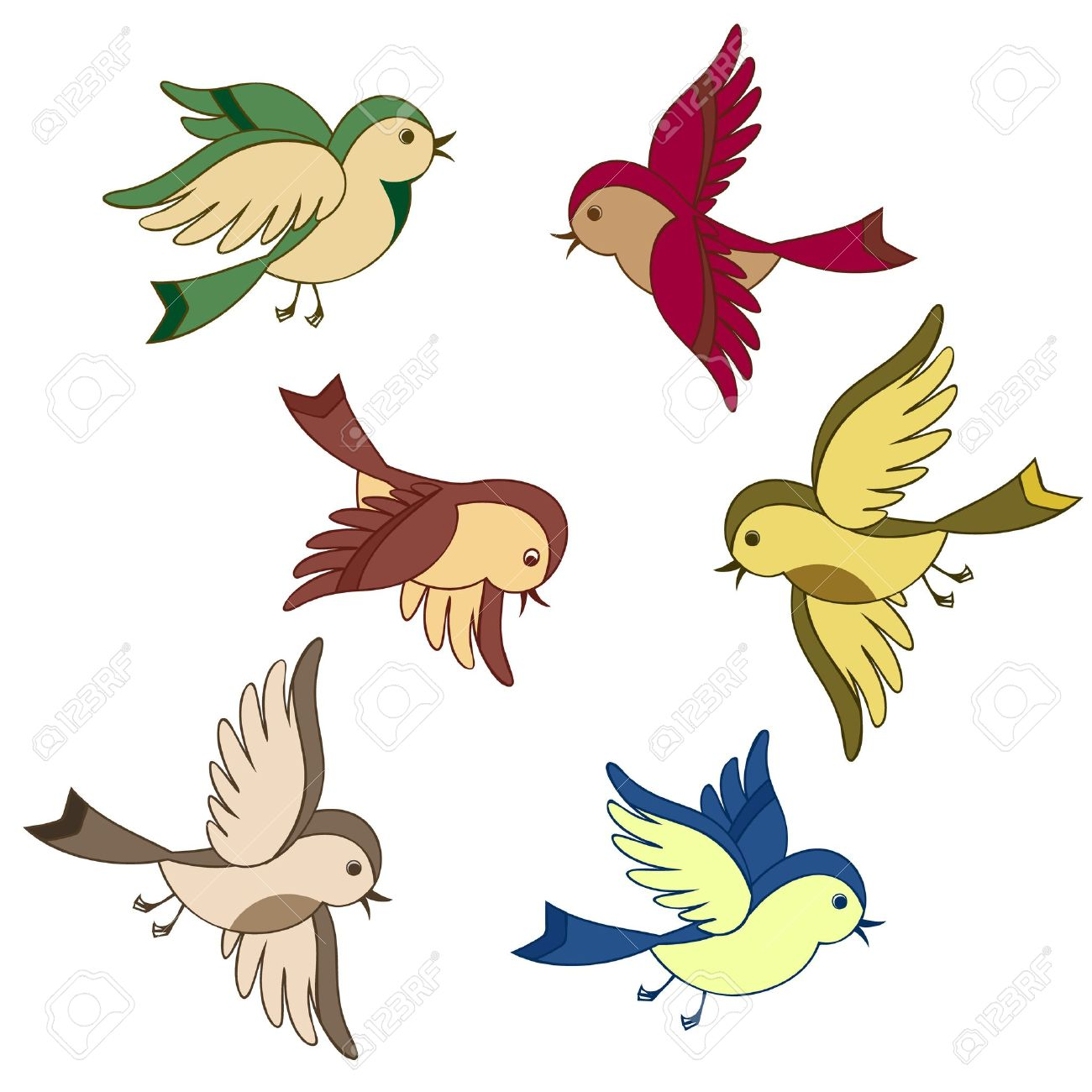 1300x1300 Collection Of Flying Sparrow Clipart High Quality, Free