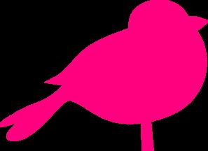 297x216 Pink Sparrow Clip Art