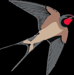 297x300 Sparrow Clip Art