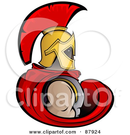 450x470 Royalty Free (Rf) Spartan Clipart, Illustrations, Vector Graphics