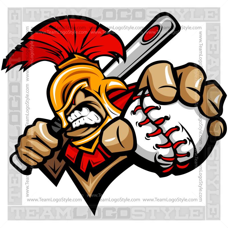 800x800 Spartan Baseball Logo