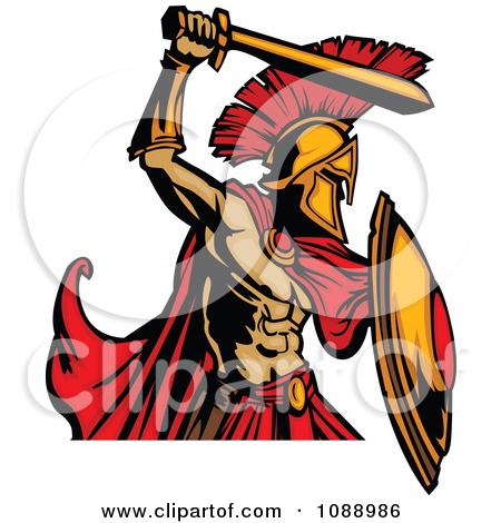 450x470 Spartan Clipart