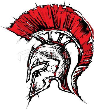 322x380 Achilles Clipart Spartan Warrior