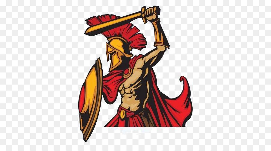 900x500 Spartan Army Ancient Greece Clip Art