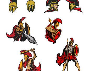 340x270 Spartan Clipart Etsy