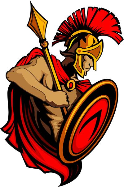 Spartan Helmet Clipart