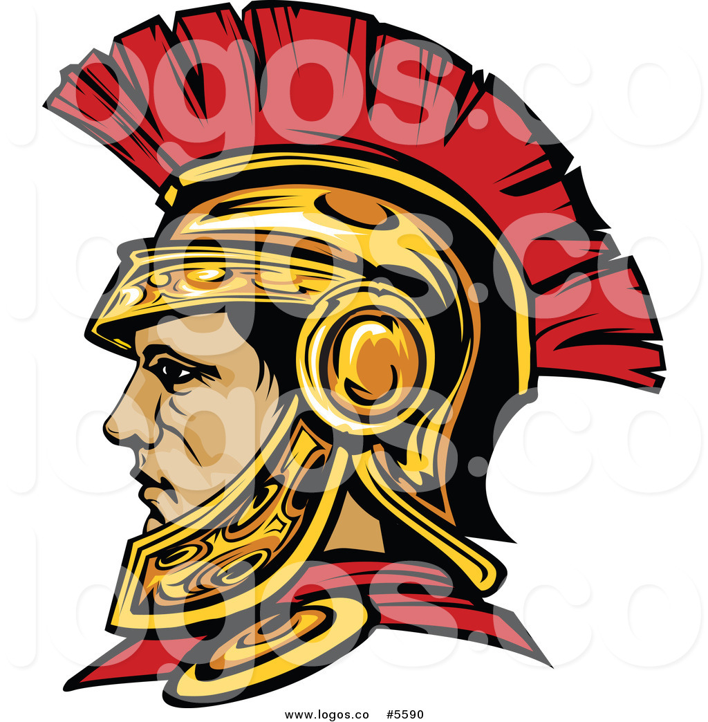 1024x1044 Royalty Free Vector Of A Logo Of A Profiled Roman Centurion