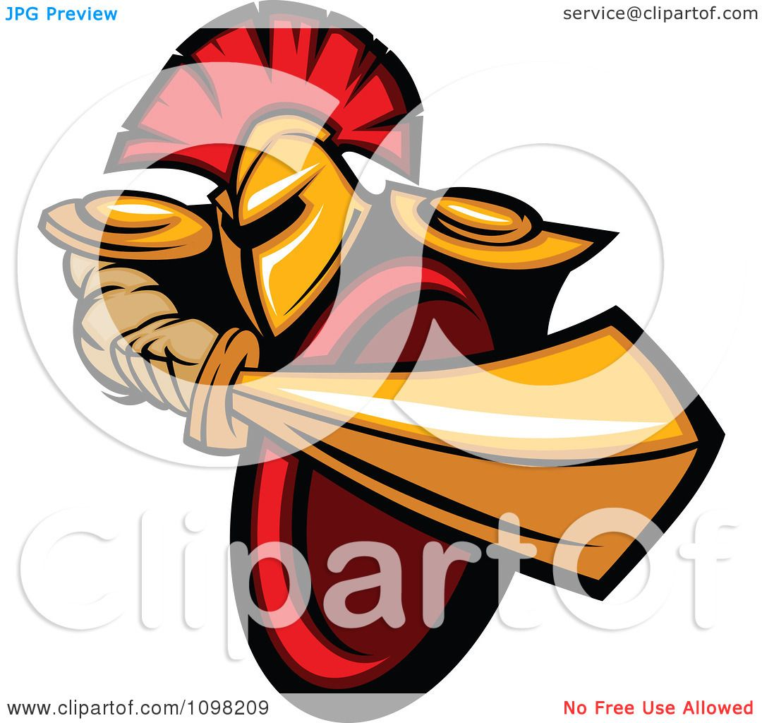 1080x1024 Clipart Strong Spartan Warrior Stabbing With His Gold Sword