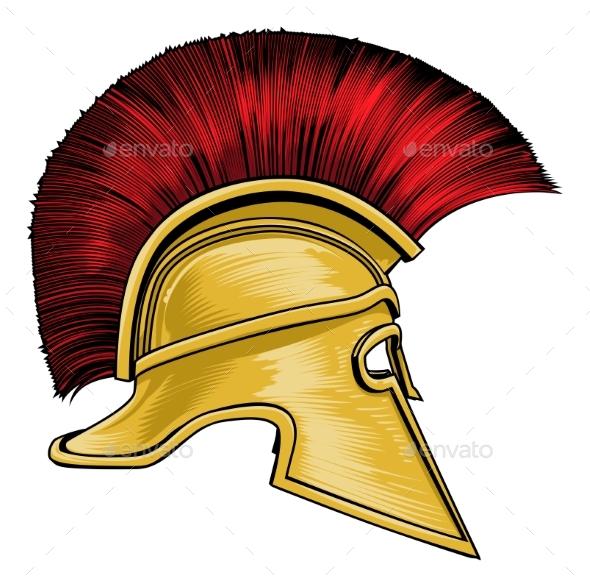 590x587 Spartan Ancient Greek Gladiator Warrior Helmet By Krisdog