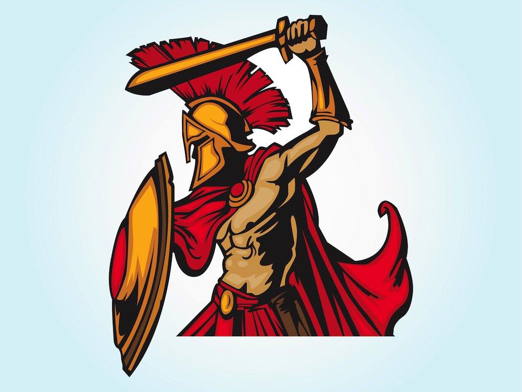 1024x769 Spartan Warrior Vector Art Amp Graphics