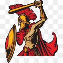 260x260 Spartan Army Ancient Greece Soldier Clip Art