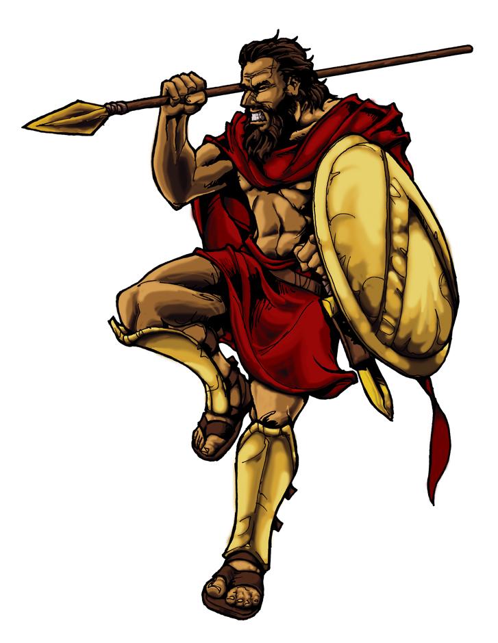 727x939 Spartan Warrior By Witchking08