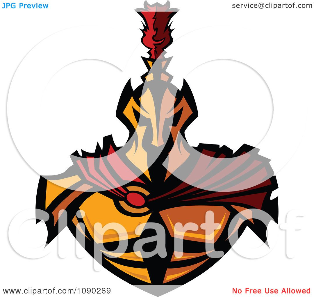 1080x1024 Clipart Gold Spartan Warrior With A Red Cape