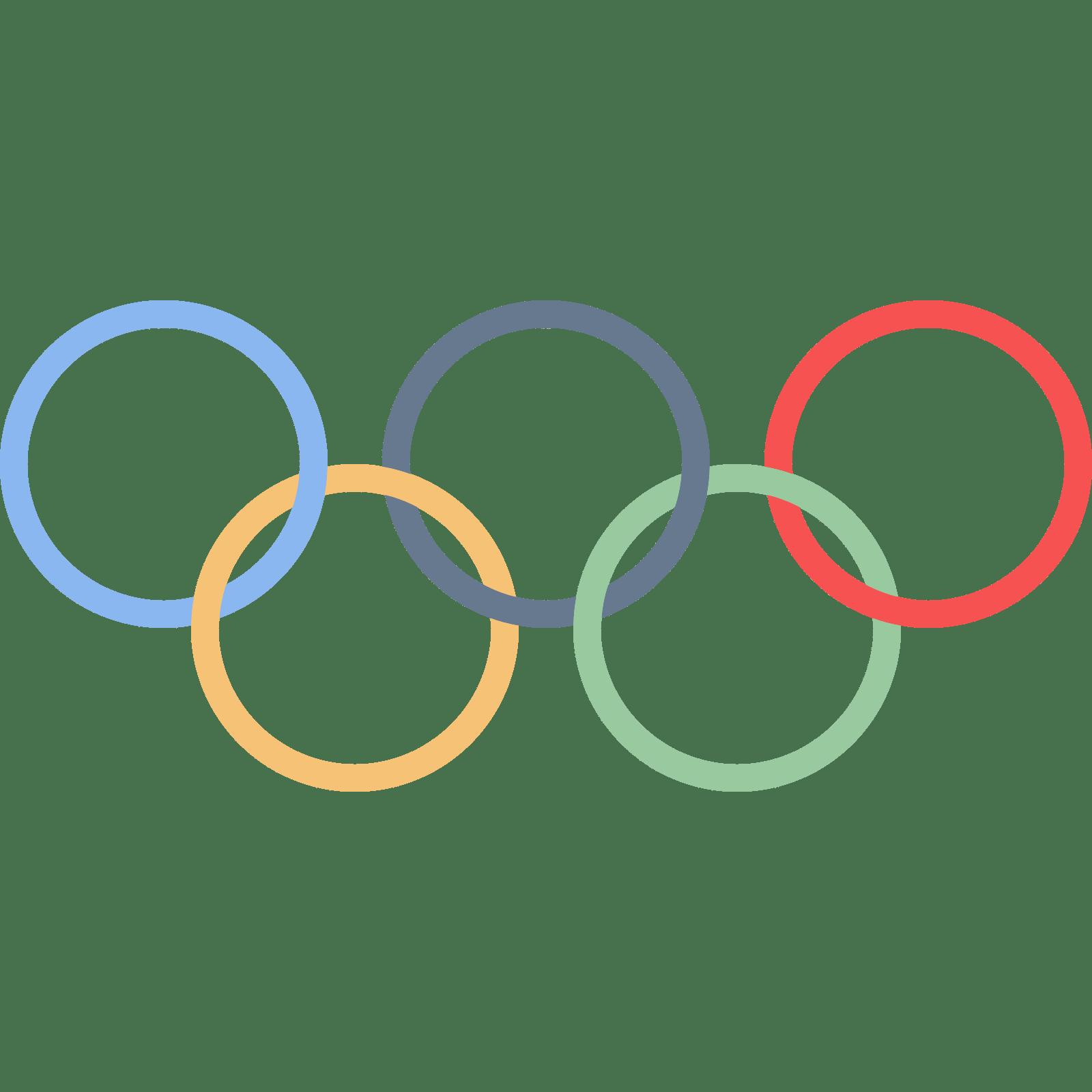 1600x1600 Olympic Rings Clip Art