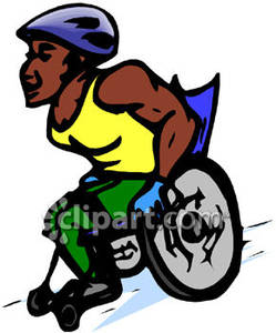 249x300 Wheelchair Special Olympics Clipart