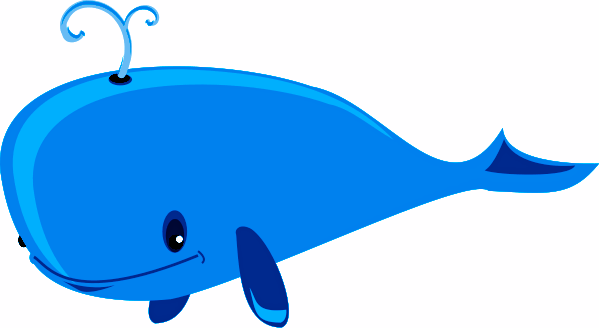 599x328 Direct Cartoon Pictures Of Whales Whale Png Free Download Clip Art