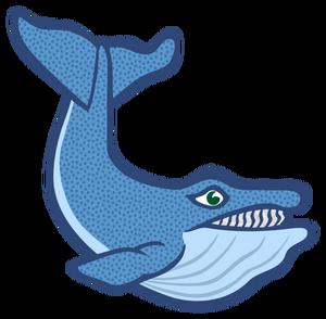 300x294 52 Sperm Whale Clip Art Public Domain Vectors