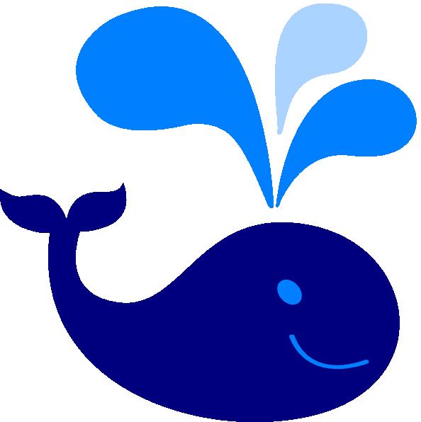 594x596 Blue Whale Clipart
