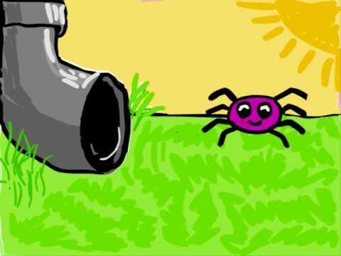 480x360 Itsy Bitsy Spider Clip Art