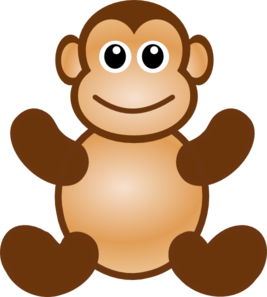 267x297 Hanging Monkey Clipart Free Images Clipartbarn
