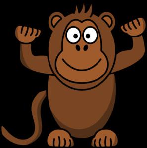 297x300 Monkey Clip Art