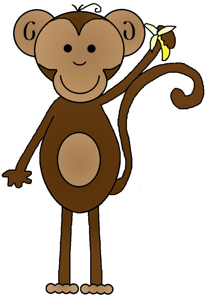 736x1048 Monkey Clip Art For Teachers Free Clipart Images