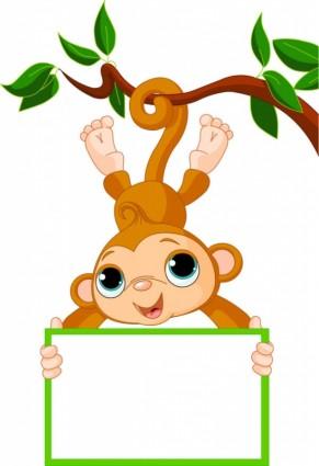 291x425 Spider Monkey Clipart