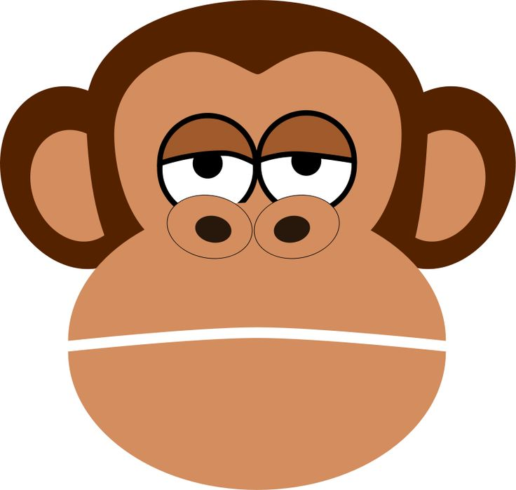 spider monkey clipart at getdrawings com free for personal use rh getdrawings com  free monkey face clipart