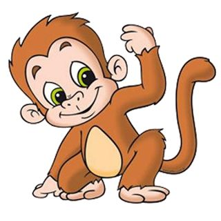 320x320 Monkeys Clip Art Clipartlook