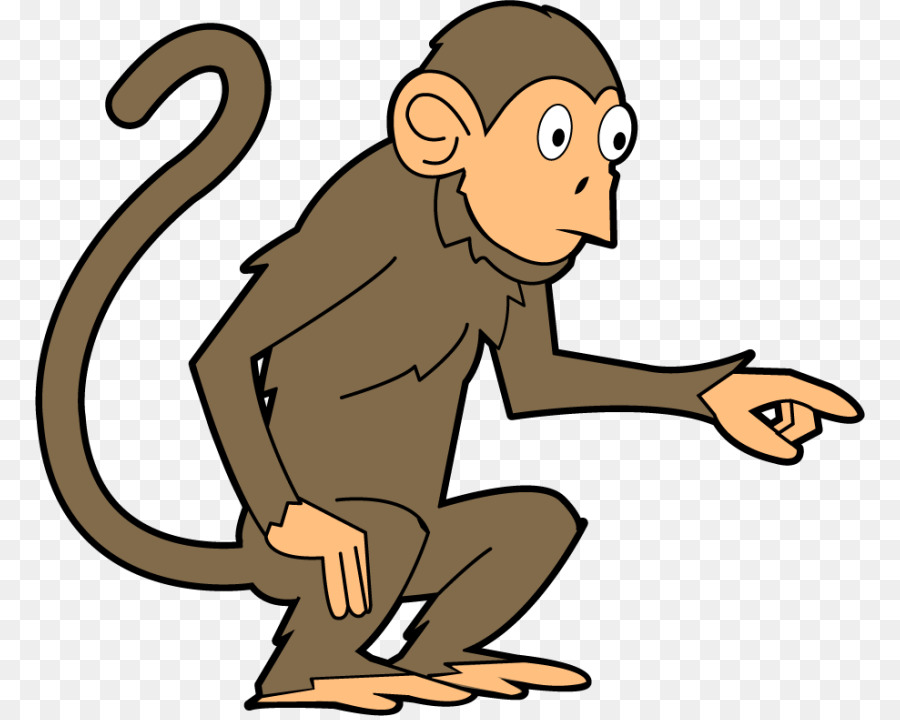 900x720 Baby Monkeys Brown Spider Monkey Clip Art
