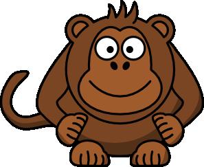 297x243 Cartoon Monkey Clip Art