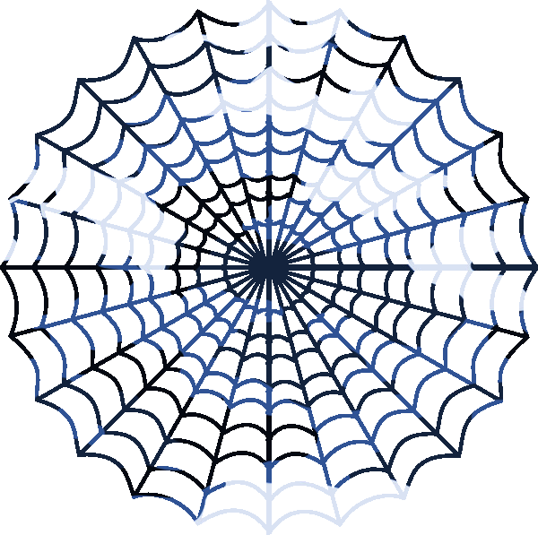 600x597 Blue Camouflage Spiders Web Free Images