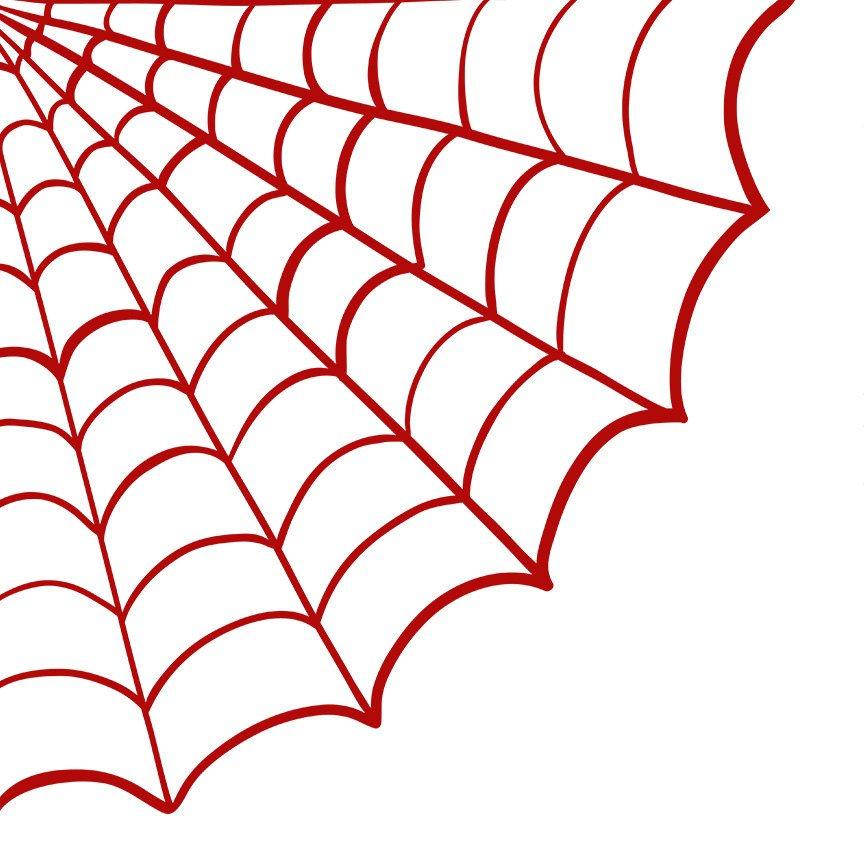 864x864 Spider Web In Corner Clipart