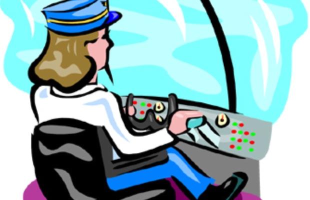 620x400 Aircraft Clipart Female Pilot