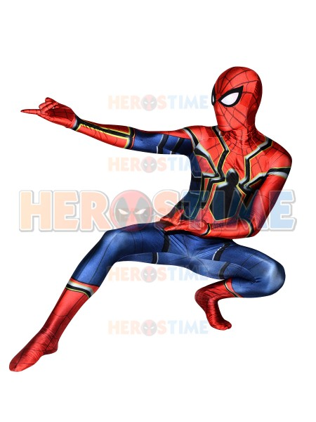 450x600 Spider Man Homecoming Costume 3d Print Spandex Fullbody Iron