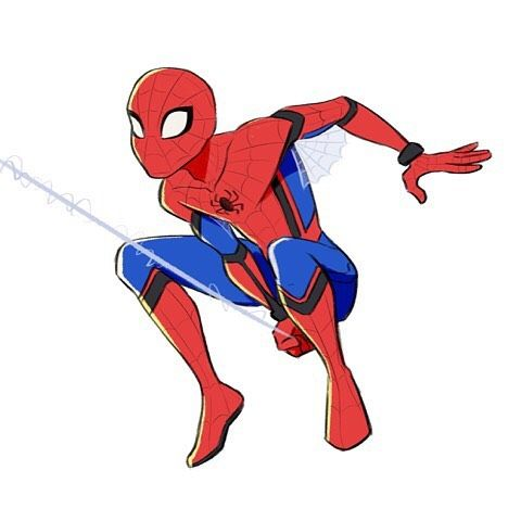 480x480 Spiderman Clipart Clipartpen