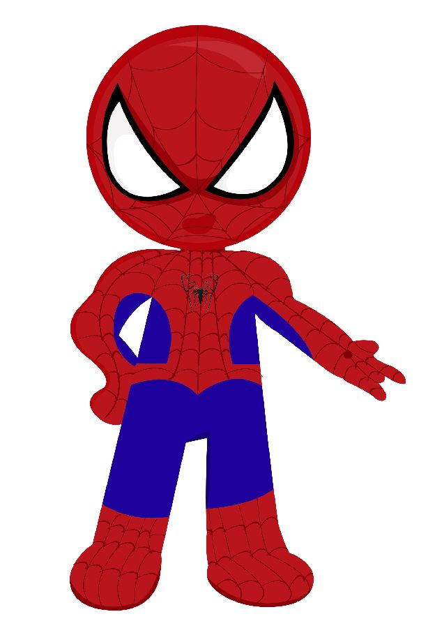 614x900 Baby Clipart Spiderman