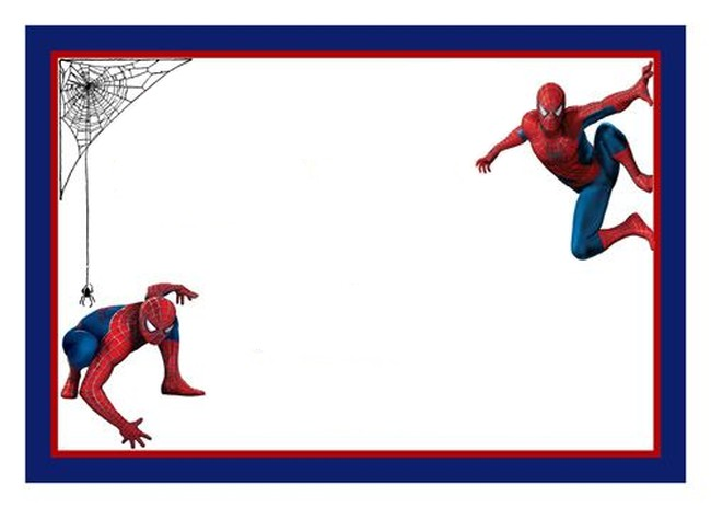 650x464 Spiderman Clipart Invited