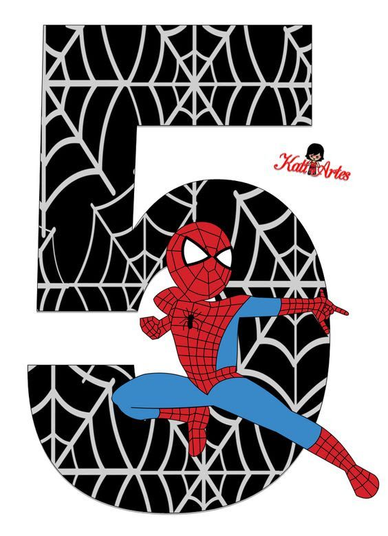 Spiderman Cartoon Clipart