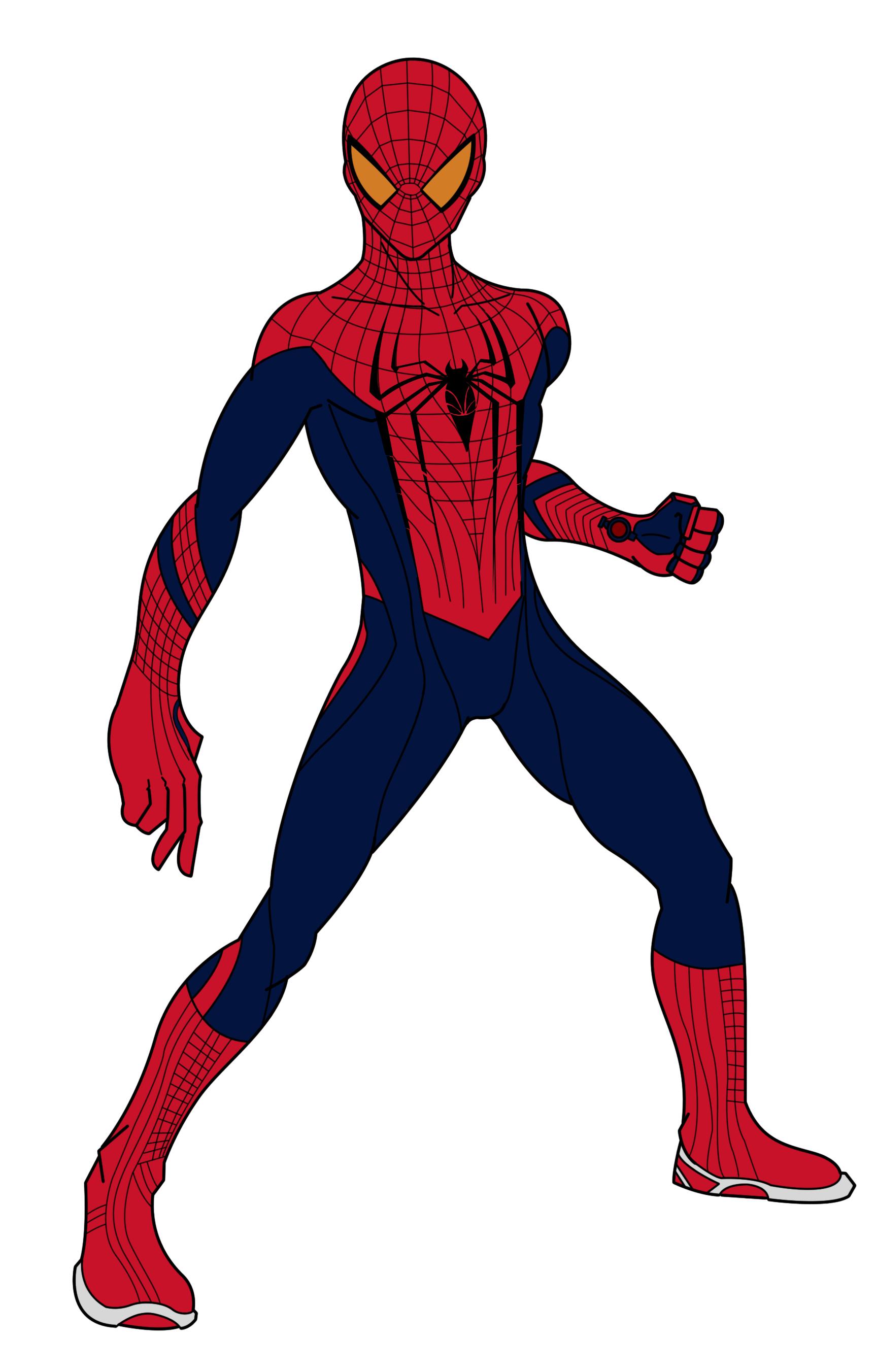 1726x2703 Spiderman Cartoon Drawing Spiderman Cartoon Free Download Clip
