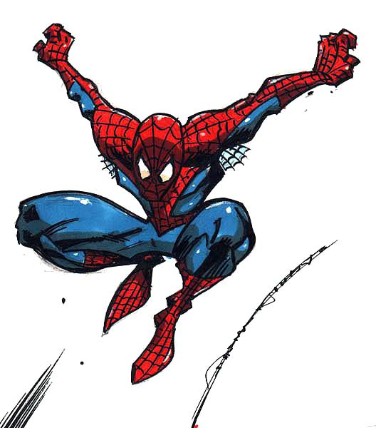 Spiderman Clipart